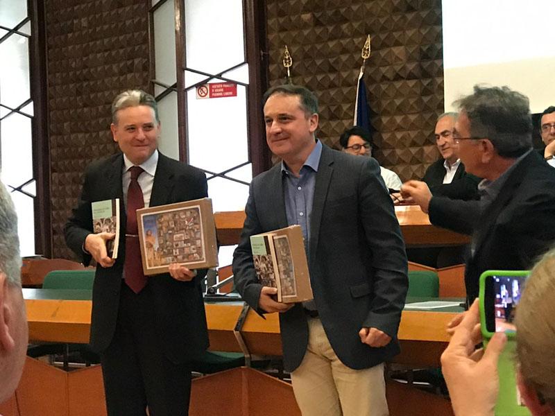 """Presentación en Matera (Italia) del libro """"Un Italiano en la familia"""""""