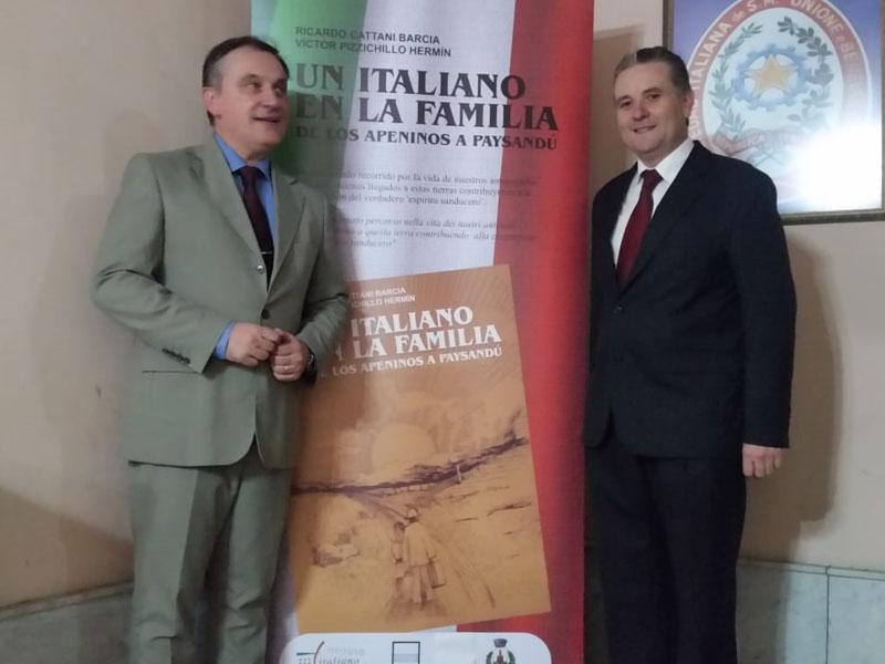 """Presentación en Paysandú del libro """"Un Italiano en la familia"""""""