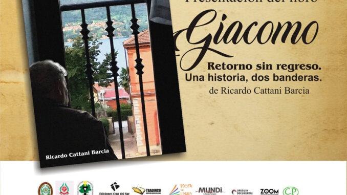 """Presentación del libro: """"Giacomo - retorno sin regreso"""""""