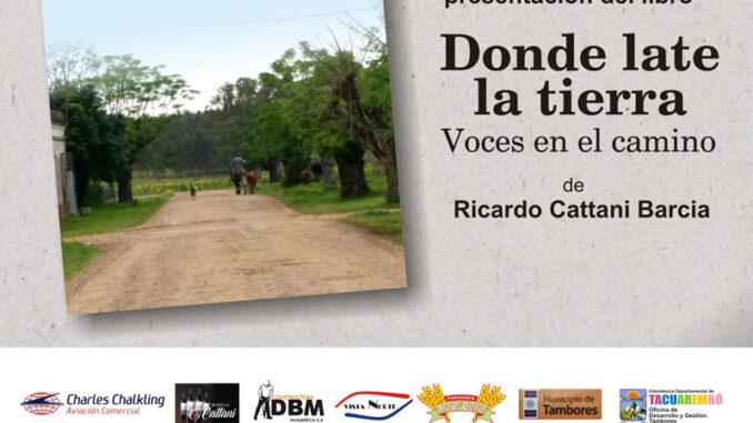 """Presentación del libro """"Donde late la tierra"""""""